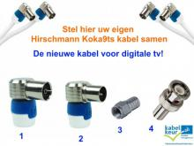 coax, kabels, bluetooth adapter, f-connector, pluggen, Koswi, Kokwi, audio kabels, video kabels, chromecast, antenne versterkers, speakersnoer, jack, tulp, router, switch, power adapter, muurbeugel, tv meubel, vloerstandaard